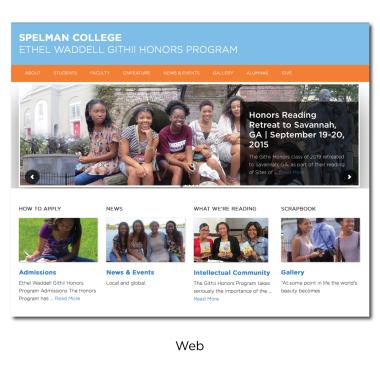 Spelman College Ethel Waddell Githii Honors Program